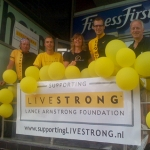 Ons LIVESTRONG team - le Grand Départ Rotterdam