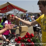 Patrick bij regionale Ride for the Roses in Zeeland - editie 2013