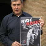 Eddy Merckx, ambassadeur Ride for the Roses in België